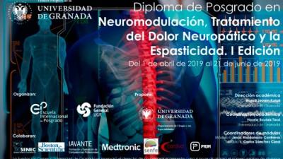 """Finaliza la Primera edición del Diploma Universitario """"Neuromodulación, Tratamiento del Dolor Neuropático y la Espasticidad"""""""